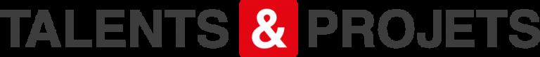 Fond perdu Logo Talents & Projets couleurs